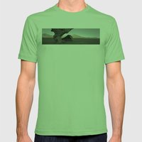 Stone Tree Mens Fitted Tee Grass SMALL