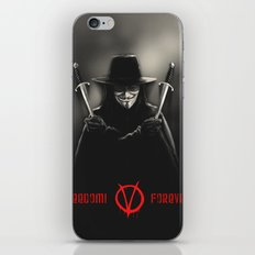 V for Vendetta (e2) iPhone & iPod Skin