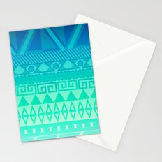 Blue Mayan Stationery Cards