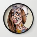 Princess High Wall Clock