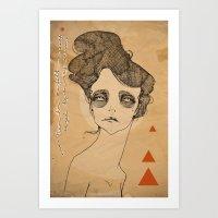 JULES Art Print