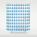 Where is Wally - Cat Shower Curtain