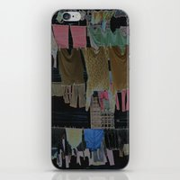 Hanging Laundry pt2  iPhone & iPod Skin
