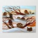 Desert Flood Canvas Print