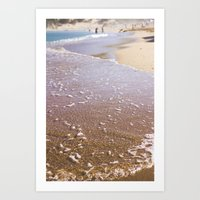 Sea sounds Art Print