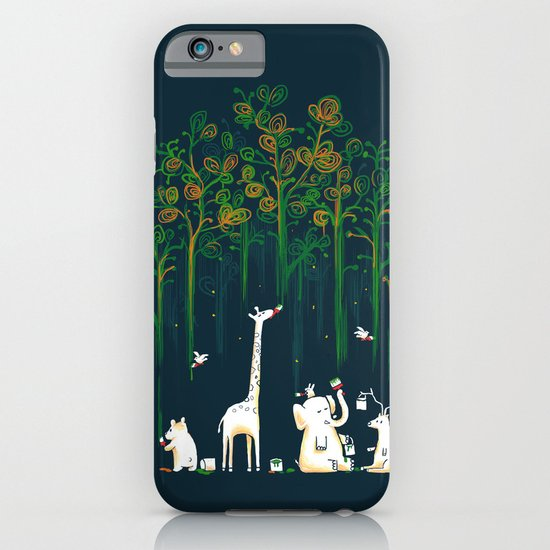 Re-paint the Forest iPhone & iPod Case