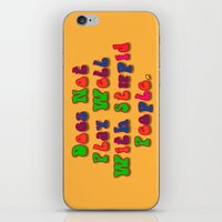 Does Not Play Well With … iPhone & iPod Skin