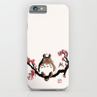 iPhone & iPod Case featuring  My neighbour art by le.duc
