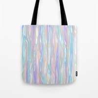 Tropical Blue Tote Bag