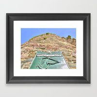 French Tower, Waterford … Framed Art Print