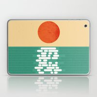 Sun over the sea Laptop & iPad Skin