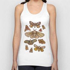 Moths Unisex Tank Top
