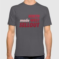 North West Sellout Mens Fitted Tee Asphalt SMALL