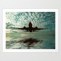 Flight Path  Art Print