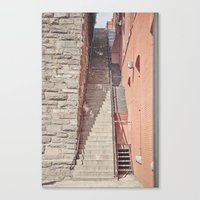Exorcist Steps Canvas Print