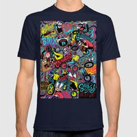 BMXXXXX Mens Fitted Tee Navy SMALL