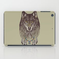 Wind Catcher Wolf iPad Case