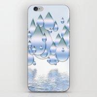 Rain Drops iPhone & iPod Skin