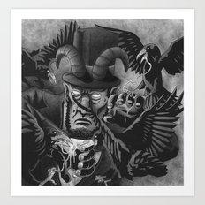 The Murder of Lincoln | Bioshock Infinite Art Print