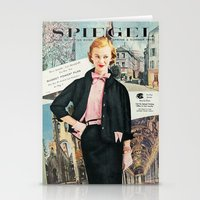 1955 Spring/Summer Catalog Cover Stationery Cards