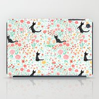Lucky Cat Garden iPad Case
