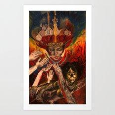 Russian Royalty Art Print