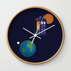 A WhoView Wall Clock