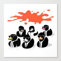 Reservoir Ducks Canvas Print
