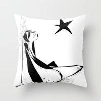 Not all about your lucky star Throw Pillow