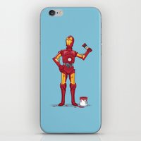 Iron Droid Variant iPhone & iPod Skin