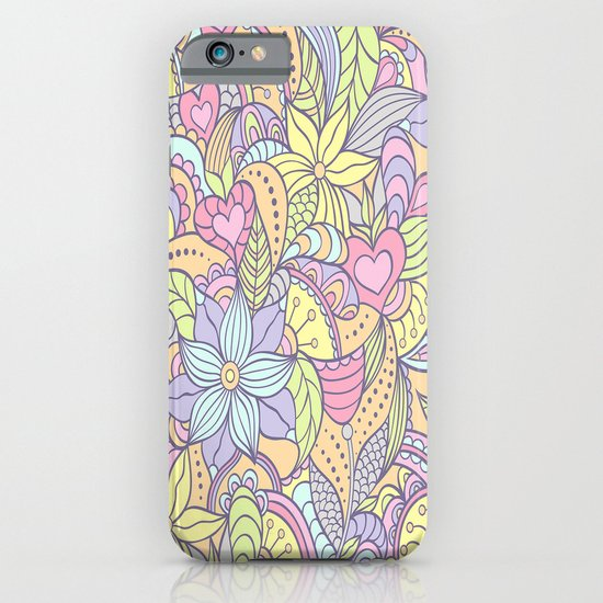 70's Flower Pattern iPhone & iPod Case