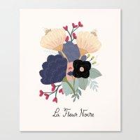 Noire Canvas Print