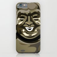 iPhone & iPod Case featuring Laughing Buddha II by Addington Blythe/Legion XXI