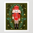 Nutcracker by Andrea Lauren  Art Print