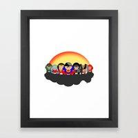 Chubby League Of America… Framed Art Print