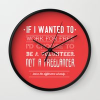 learn the difference. Wall Clock