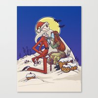 The Holiday Hero Canvas Print