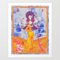 Go Into The Wild Of Your… Art Print