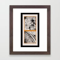 DEUCE Framed Art Print