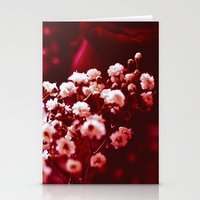 Red Happiness Stationery Cards