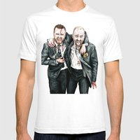 Breaking Bad Mens Fitted Tee White SMALL