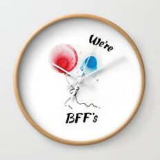 We are BFF's Wall Clock