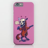 iPhone & iPod Case featuring Debutante Fox by YetiParade