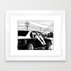 asc 600 - Les lendemains (Tomorrow's Just Another Day) Framed Art Print