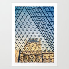 In The Pyramid Art Print