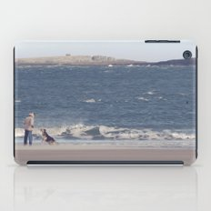 fishing with dogs... iPad Case