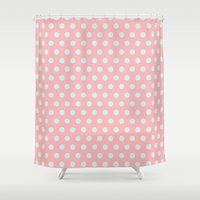 Dots Collection III Shower Curtain