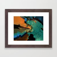 goddess-struck Framed Art Print