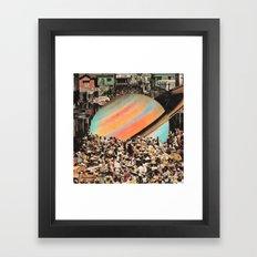 major attraction Framed Art Print