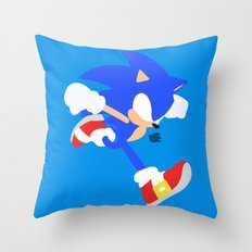 Sonic(Smash) Throw Pillow